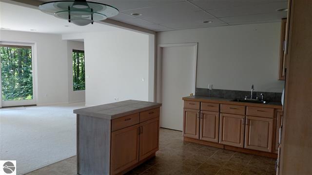 Second kitchen (downstairs)